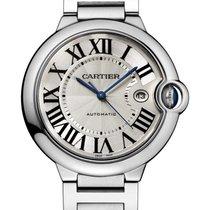 Cartier Ballon Bleu Stainless Steel Silver Dial 42mm W69012Z4