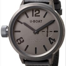 U-Boat Flightdeck MSG MB Grey Mens Watch 5324