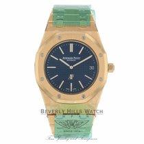 Audemars Piguet Royal Oak 39MM Ultra Thin Rose Gold Blue Dial