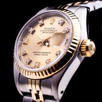 Rolex Datejust Stahl/Gold Brilliant Date