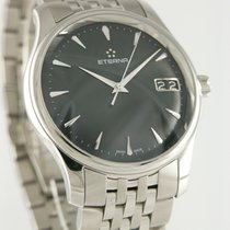 Eterna Vaughan Steel 40mm Grey