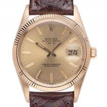 ロレックス (Rolex) Oyster Perpetual Date Gelbgold Automatik Armband...