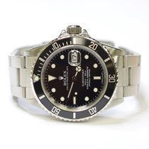 Rolex Submariner 40mm Oyster Perpetual Stainless Steel Mens...