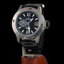 Jaeger-LeCoultre Master Compressor Diving GMT usados 46mm Negro Fecha Textil