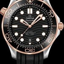 Omega Seamaster Diver 300 M 21022422001002 OMEGA SUB Diver Oro Rosa Gomma Nero Automatic 2020 nouveau