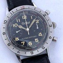 Gallet Rare Vintage Gallet Flight Officer Chronograph Landeron...