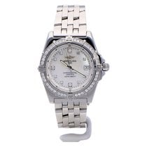 Breitling Callisto Steel 34mm Mother of pearl No numerals