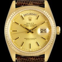 Rolex Day-Date 36 Yellow gold 36mm Champagne No numerals United Kingdom, London