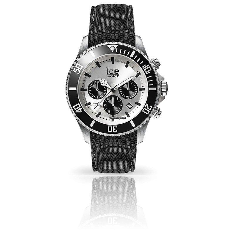 Ice Watch Montre ICE Steel Black Silver 016302 za 169 € k prodeji od  Trusted Seller na Chrono24 1faffa0ccfe