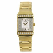 Concord C1 Yellow gold 23mm Silver No numerals United States of America, New York, New York