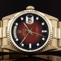 Rolex Red 18mm Day-Date 36