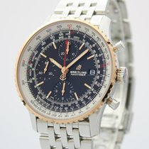 Breitling Navitimer Acero y oro 41mm Negro
