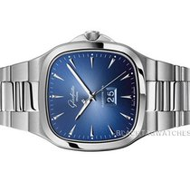 Glashütte Original Seventies Panorama Date Steel 40mm Blue No numerals United States of America, Florida, Aventura
