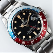 Rolex 1675 Staal 1978 GMT-Master 40mm tweedehands