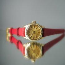 Rolex Oyster Perpetual 26 Oro amarillo 25mm Champán Sin cifras