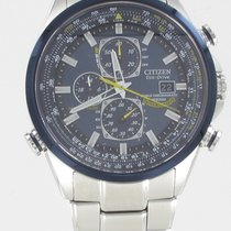Citizen Steel 44mm Quartz AT8020-54L new