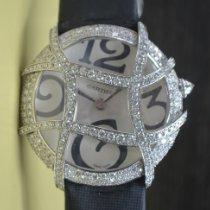 Cartier new Quartz Gemstone 36mm White gold Sapphire Glass