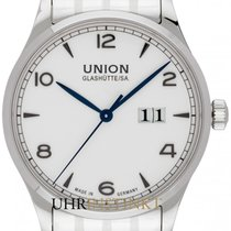 Union Glashütte Noramis Big Date Steel 40mm Silver
