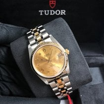 Tudor Prince Date M74033-0009 New Gold/Steel 34mm Automatic