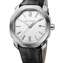 Bulgari Steel Automatic Silver 41mm new Octo