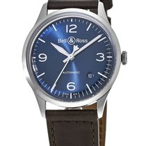 Bell & Ross Steel Automatic BRV192-BLU-ST/SCA new United States of America, New York, Brooklyn