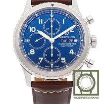 Breitling Navitimer 8 Acier 43mm Bleu Arabes
