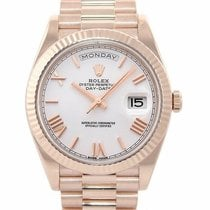 Rolex Rose gold Automatic Champagne Roman numerals 40mm new Day-Date 40