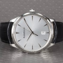 Jaeger-LeCoultre Master Ultra Thin Date Steel 40mm Silver No numerals