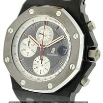 Audemars Piguet Royal Oak Offshore Chronograph Carbon 42mm Schwarz