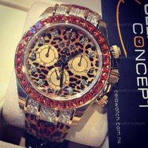 "Rolex 116598 SACO Daytona ""Leopard"" Special Edition Yellow Gold"