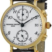 Frederique Constant Classics Chronograph Gold/Steel White United States of America, New York, Brooklyn