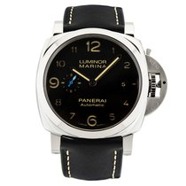 沛納海 Luminor Marina 1950 3 Days Automatic 鋼 44mm 黑色 香港, Hong Kong