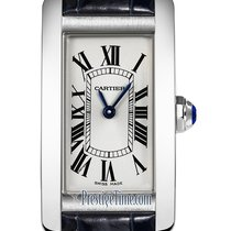 Cartier Tank Américaine Steel 19mm Silver United States of America, New York, Airmont