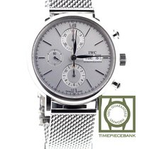 IWC Portofino Chronograph Otel 42mm Argint Roman