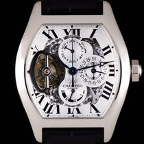 Cartier Cartier Perpetual Calendar Tourbillon Very good Platinum 41mm Automatic
