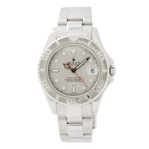 Rolex 168622 Yacht-master Unisex Automatic Watch 35mm Midsize...