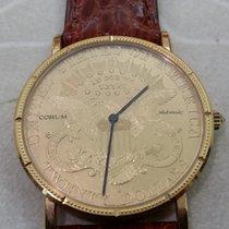Corum Coin Watch Жёлтое золото 35,2mm Золото Без цифр