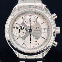Omega Speedmaster Chronograph, Date, White Dial, Steel, 39MM,...
