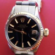 Rolex Oyster Perpetual Lady Date esfera negra ref.6517...