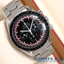 "Omega SP Price NOS Red&White Racing Moon""TinTin Dial"""