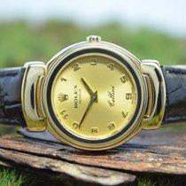 Rolex 26mm Quartz Cellini (Submodel) Gold