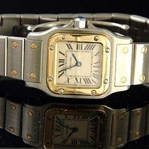 Cartier Santos Galbée gebraucht Gold/Stahl