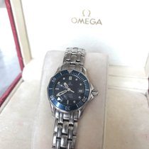 Omega 21230286101001 Steel 1998 Seamaster Diver 300 M 28mm pre-owned