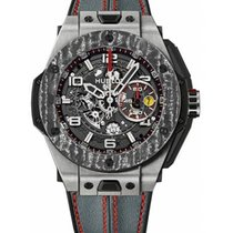 Hublot Big Bang Ferrari Titanium 45mm Doorzichtig Arabisch