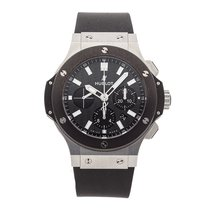 Hublot Steel Automatic No numerals 44mm pre-owned Big Bang 44 mm