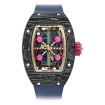 Richard Mille RM 07 Carbon 45.32mm Transparent No numerals