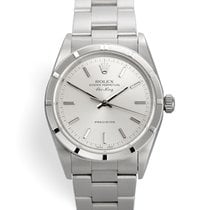 Rolex Air King Precision Steel 34mm Silver No numerals United Kingdom, London