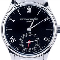 Frederique Constant Steel 42mm Quartz FC-285B5B6B new