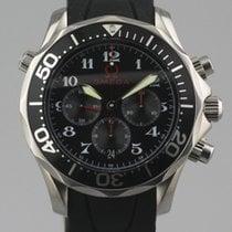 Omega Seamaster Steel Black
