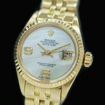 Rolex Lady-Datejust Gelbgold 26mm Perlmutt Deutschland, Düsseldorf
